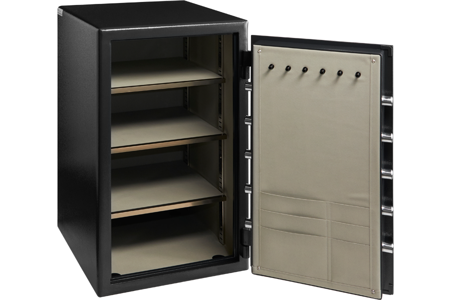 HS-5 SAfe by Dominator Safes door open