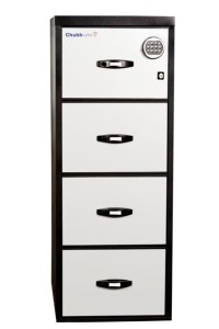 Chubbsafes Commercial Safes Profile Executive 4 Drawer