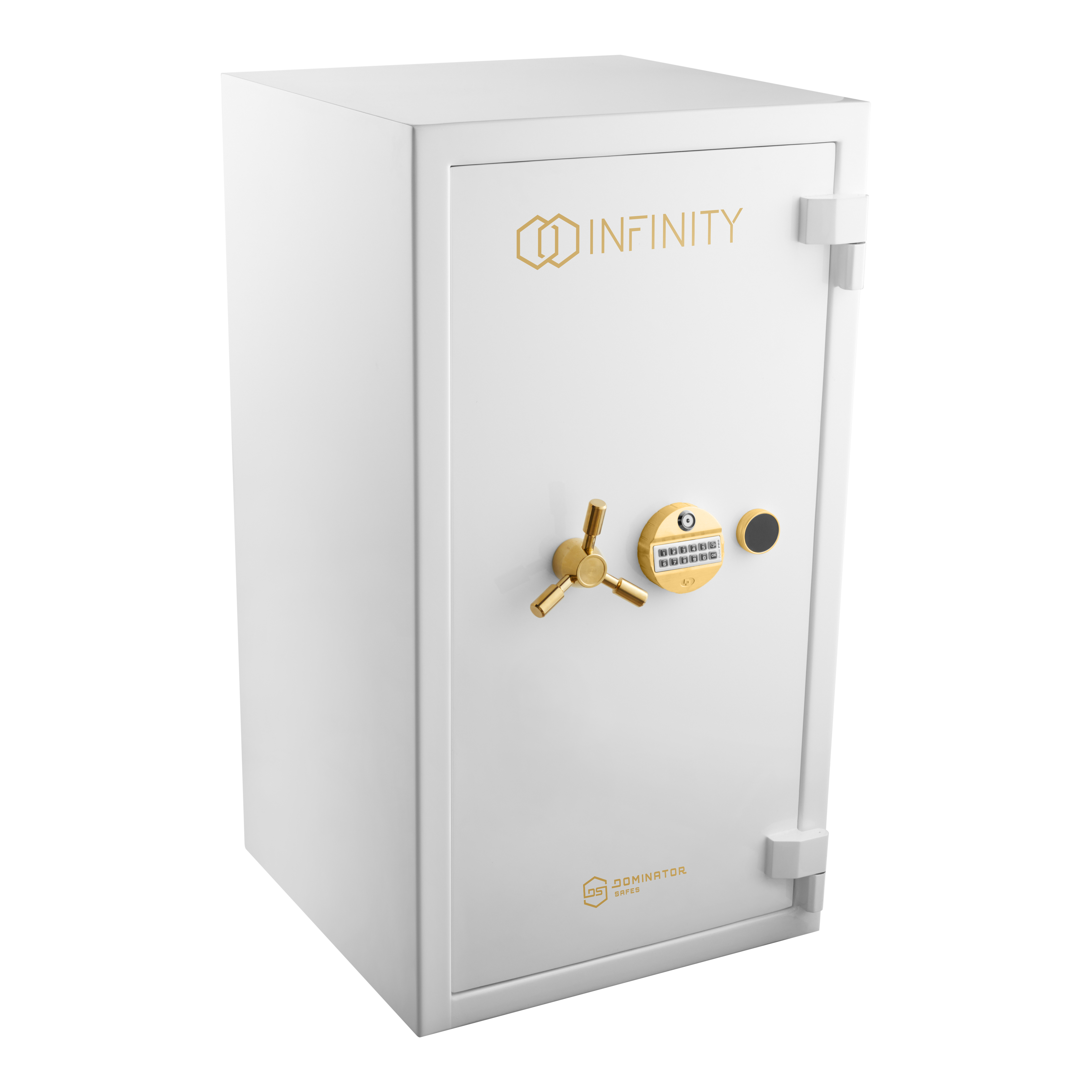 Infinity DS4 Custom Safe White Door Closed