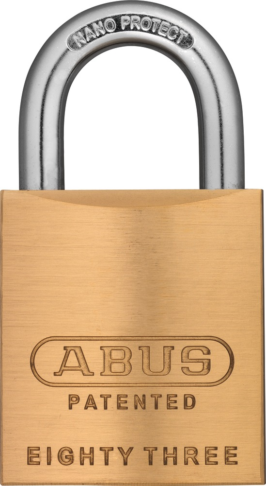 Abus 83/45 rekeyable padlocks
